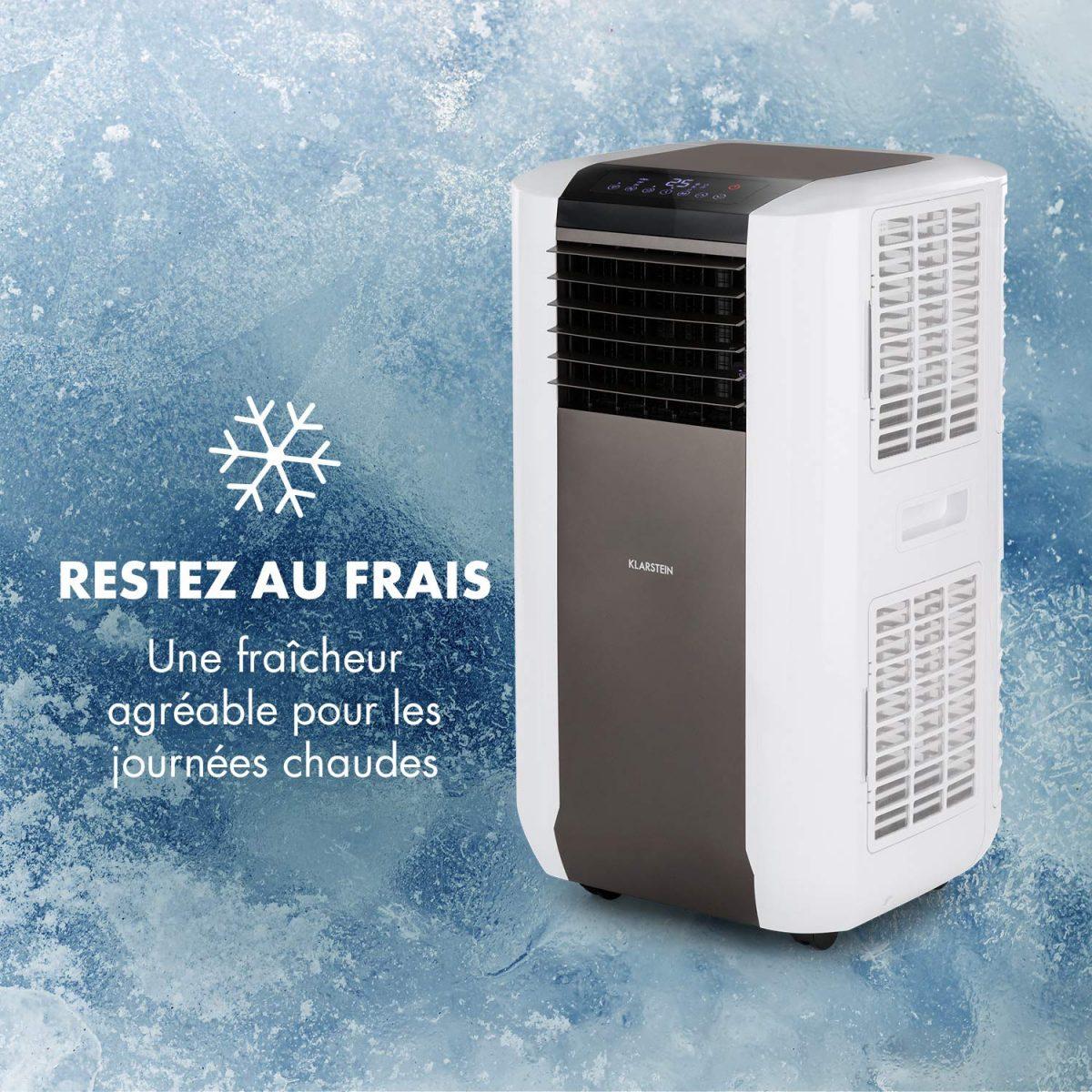 Climatiseur mobile compacte